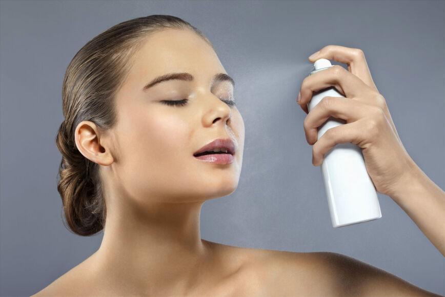 Acqua termale spray