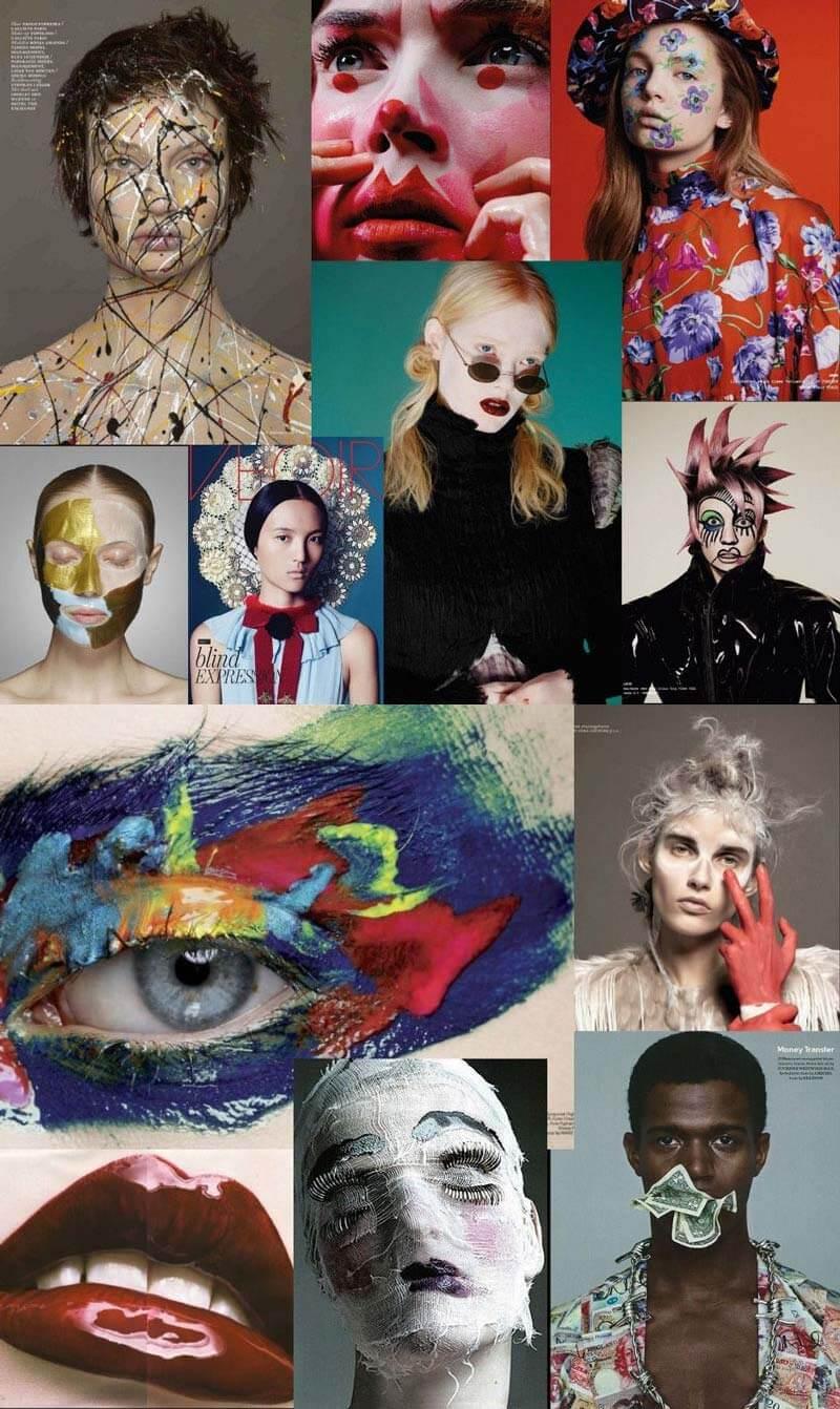 topolino portfolio collage