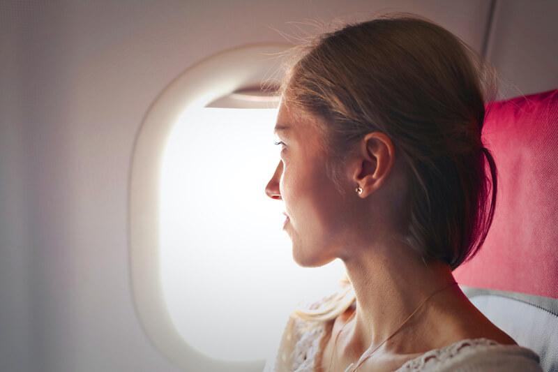cosmetici in aereo cura della pelle