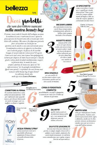 Beauty editor per riviste e magazine