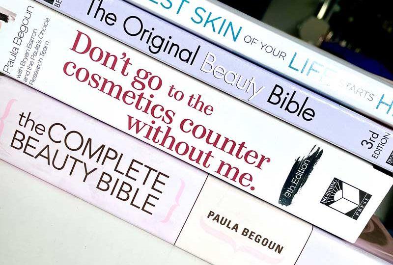 libri di paula begoun 4 titoli da non perdere